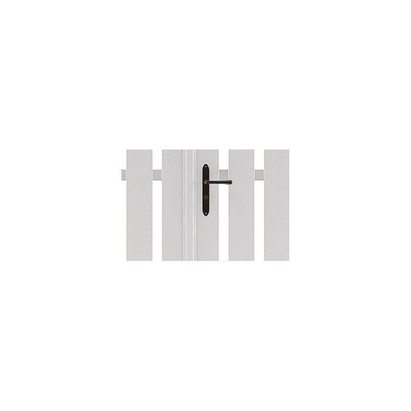 286af80010b40d Craquez pour les lames simples du portail pvc Armoni   OUTDOORIN