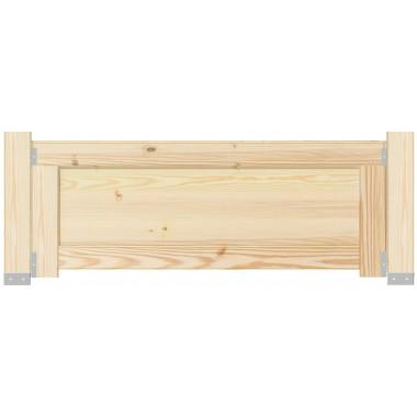 Clôture bois plein Frebu