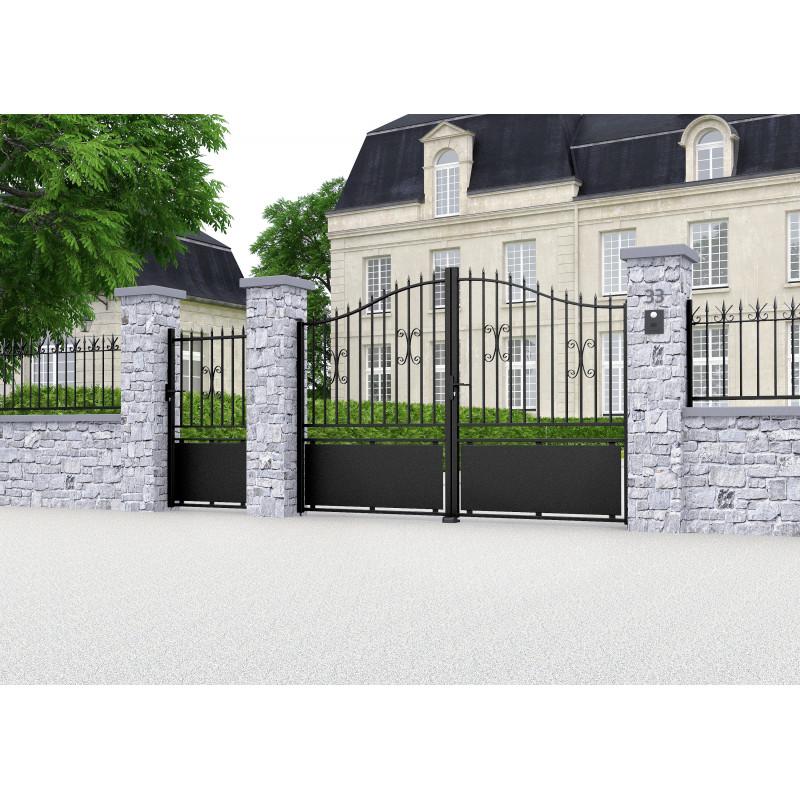 7195a79439bbc Retrouvez les traditions avec le modèle de portail fer Goline ...