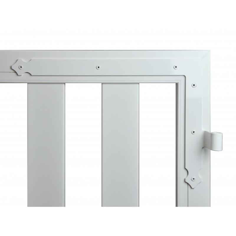 b72f140f7fd604 Un extérieur résistant et durable  découvrez le portail pvc Arami ...
