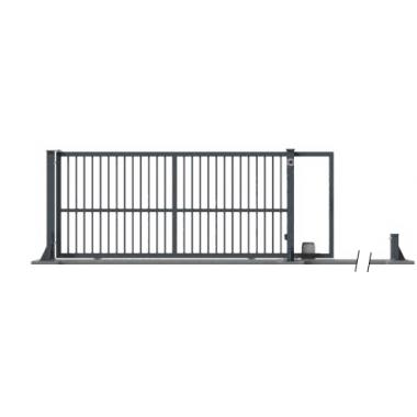 portail ZOLA AUTOPORTE 7016 : 400x160 cotes de fabrication