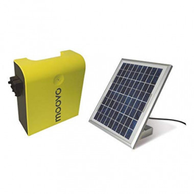 Kit alimentation solaire MOOVO KSMKM pour motorisation de portail
