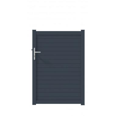PORTILLON ALU TABAP L100 H145 - GRIS (RAL7016)