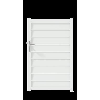 PORTILLON ALU ZELMA L100 H162 - BLANC (RAL9016)
