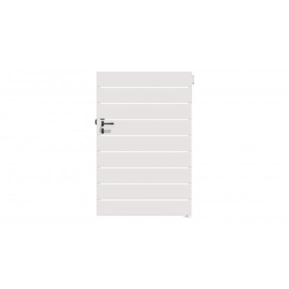 PORTILLON PVC EBAHI L100 H140 - BLANC