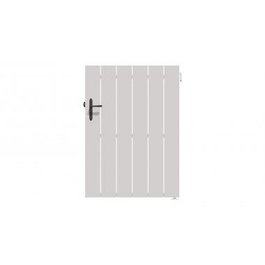 PORTILLON PVC ALIBI L100 H140 - BLANC