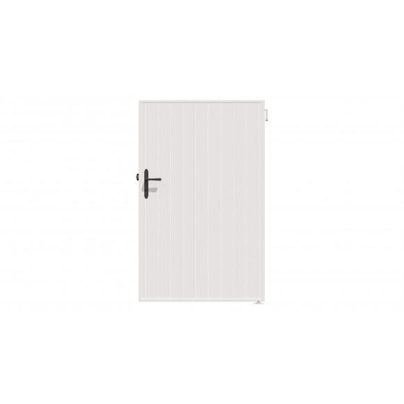 PORTILLON PVC MAORI L100 H140 - BLANC