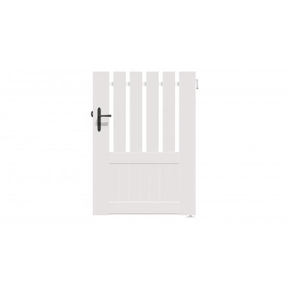 PORTILLON PVC AZILY 100 H140 - BLANC