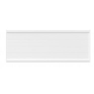 PANNEAU DE CLÔTURE ALU FINES LAMES H100 - BLANC (RAL9016)