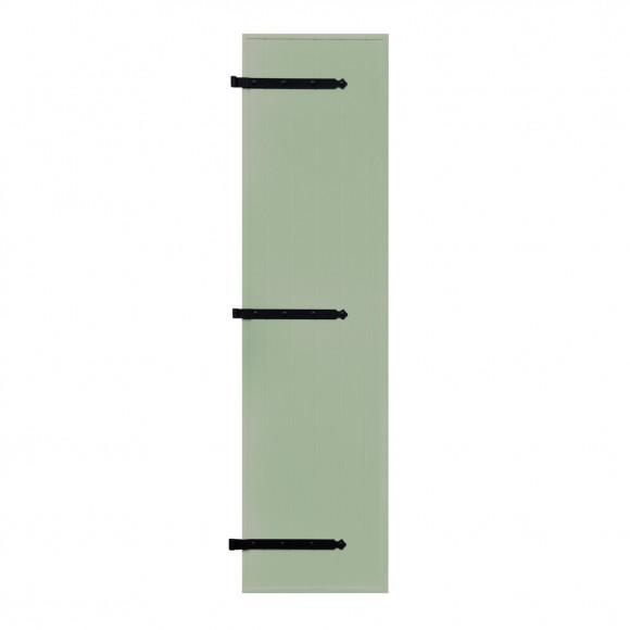 VOLETS BATTANTS PVC 1 VANTAIL PENTURE CONTRE PENTURE L80 H215 - VERT PÂLE (RAL 6021 FT)