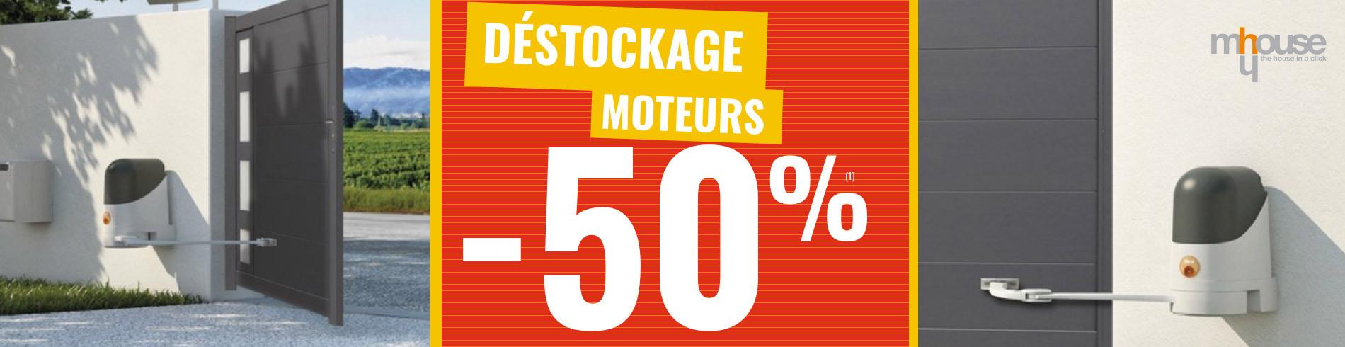 Destockage motorisation